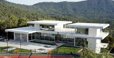 Wooden-Aluminium Prefabs Home