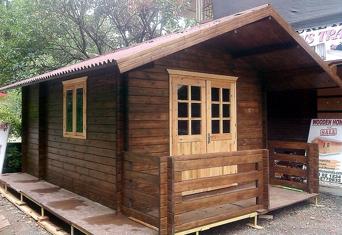 Wooden houses in india prefab wooden house cost prefab for Ready made house plans