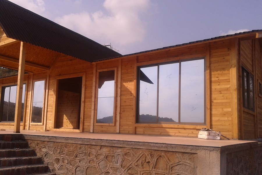 Wooden Homes Houses India Prefab Cottages