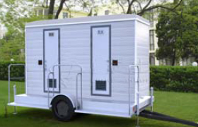 Mobile Trailer Toilet