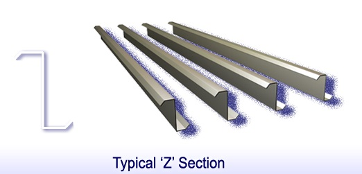 secondary members typical z section