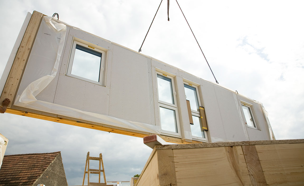 Assembling-of-Prefab-Structure