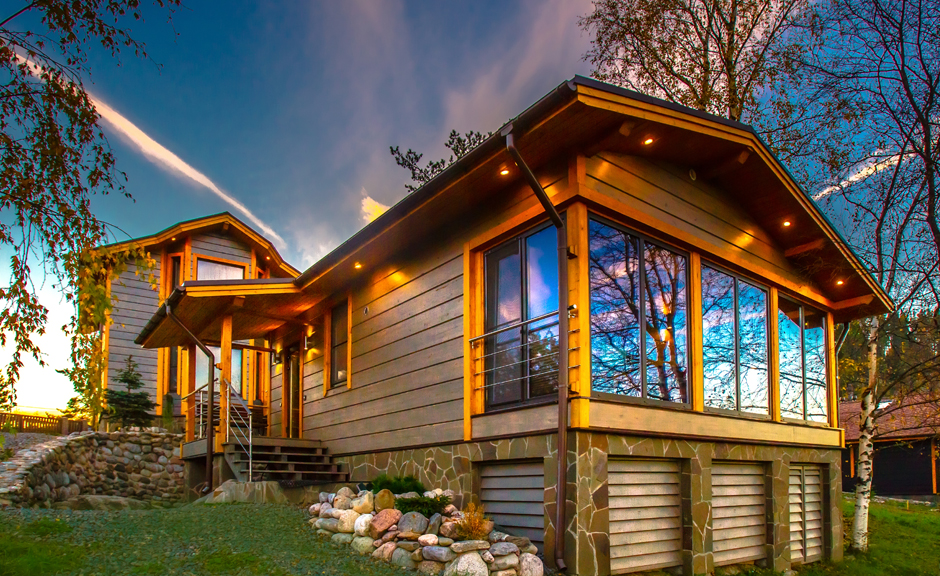 Wooden Prefab homes